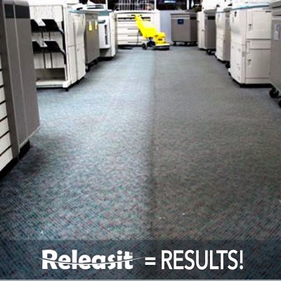 Releasit Encapsulation Carpet Cleaning Detergent Results